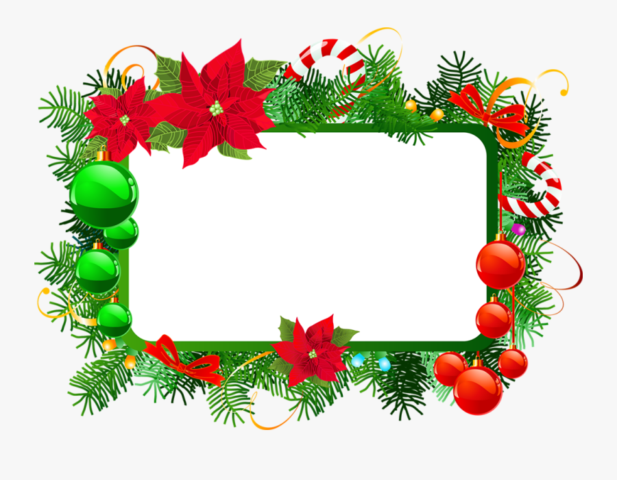 Фото, Автор Missis - Free Christmas Frame Png, Transparent Clipart