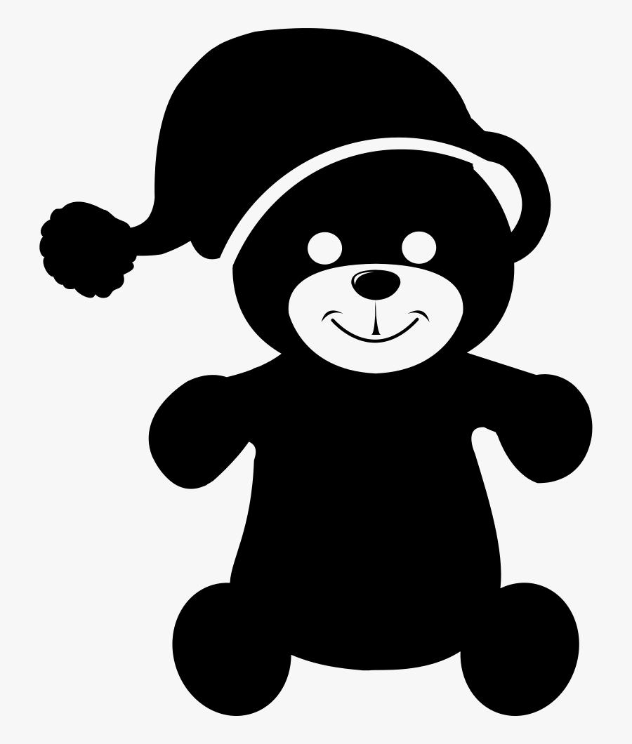 Teddy Bear With Sleep Hat - Oso Dormido Vector, Transparent Clipart