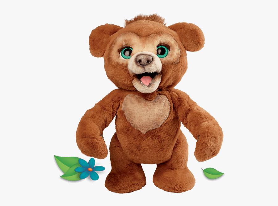 Cubby The Curious & - Cubby The Curious Bear Furreal, Transparent Clipart
