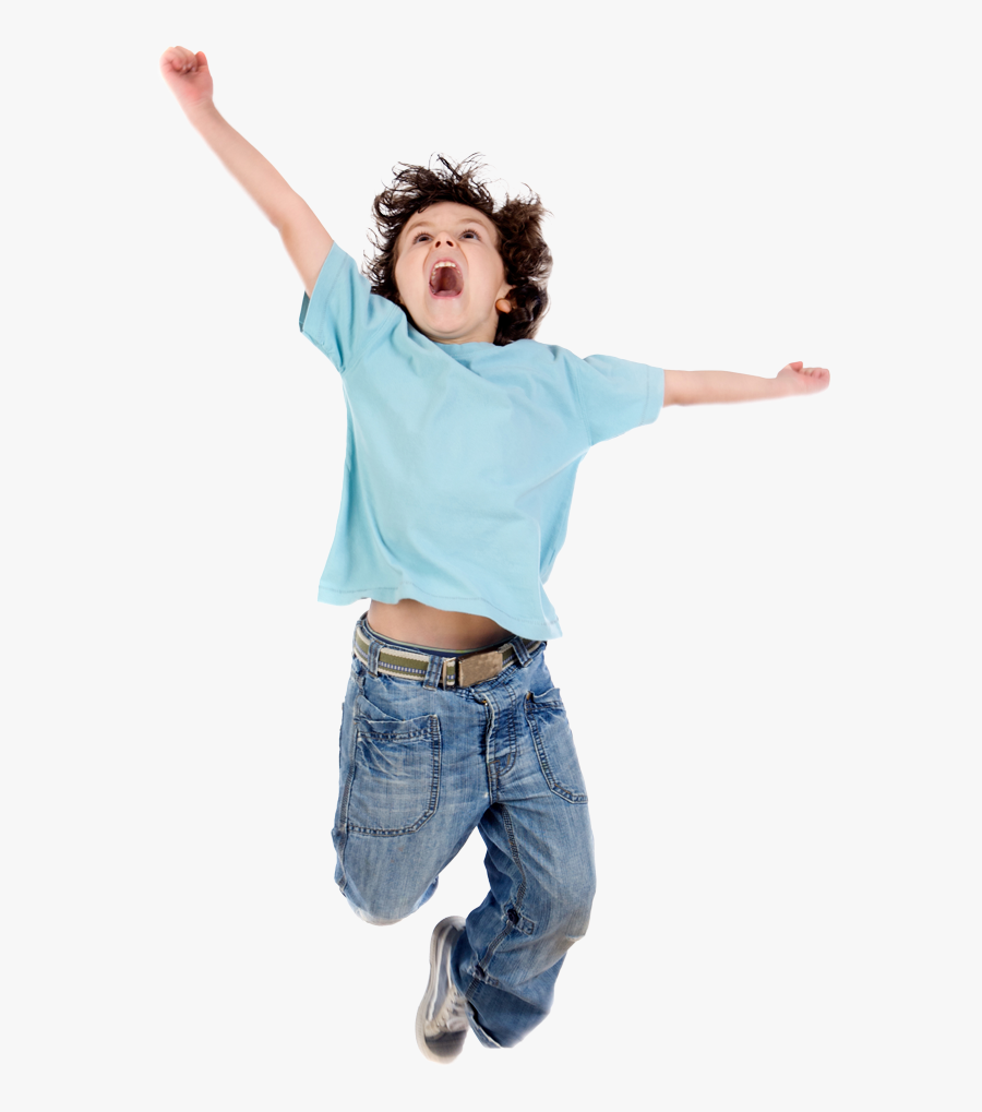 Kid Jumping Png - Children Jumping Png, Transparent Clipart