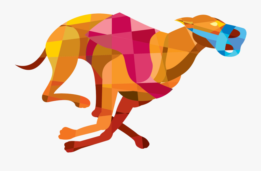 Greyhound Racing, Transparent Clipart