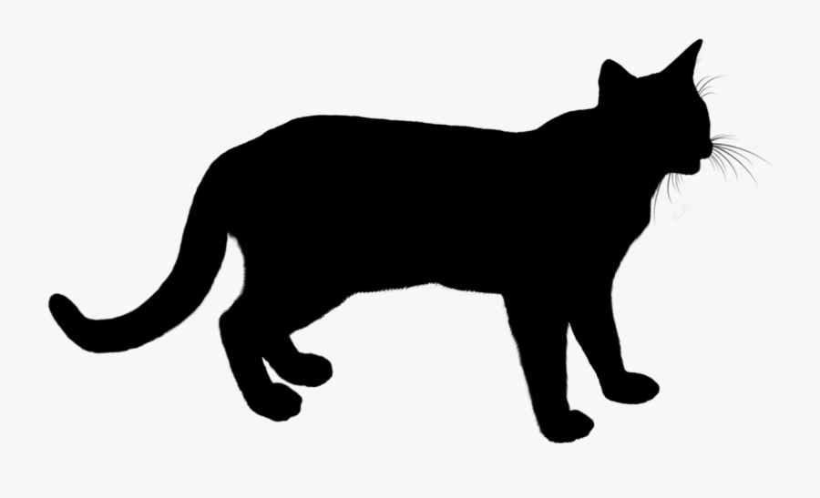Cat Animal Silhouette - Cow Jumping Clip Art, Transparent Clipart