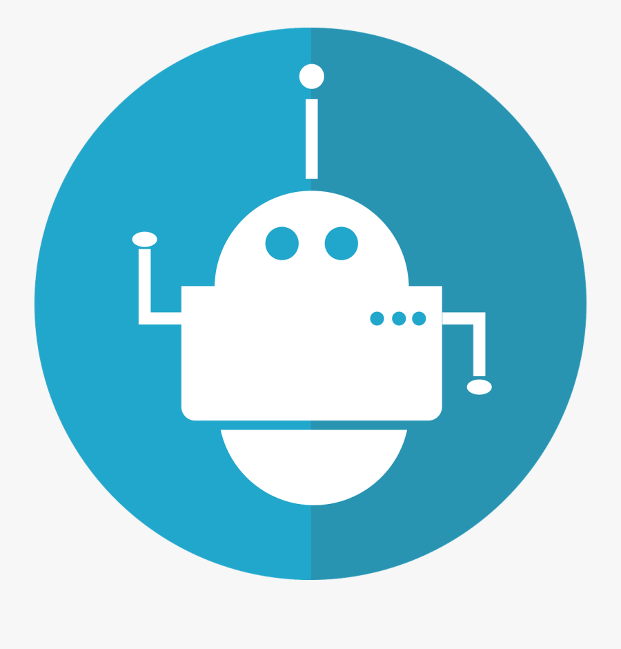Image Processing Bot Using Ms Bot Framework And Computer - Robotic Process Automation Rpa Icon, Transparent Clipart
