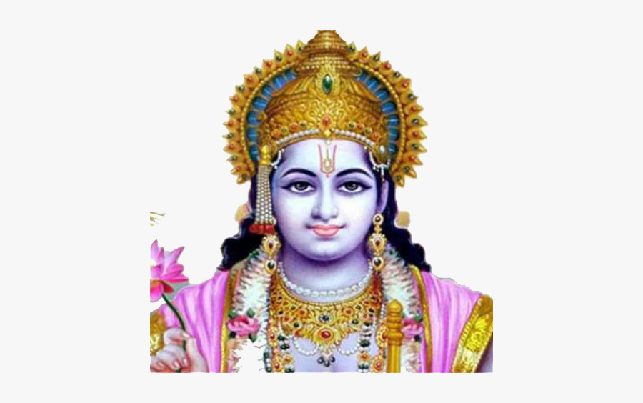 Lord Vishnu Png Download Image - Shree Krishna With Chakra, Transparent Clipart
