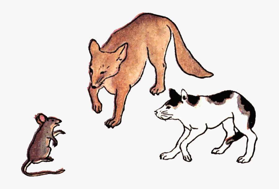 Rat Clipart Cat Rat - Rats Cats And Dogs, Transparent Clipart