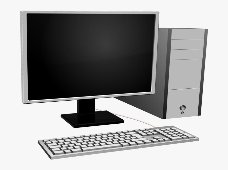Computer Monitor,desktop Computer,computer - Computers Monitor Clipart, Transparent Clipart
