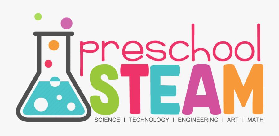 Transparent Steam Education Clipart - Preschool Steam Logo, Transparent Clipart