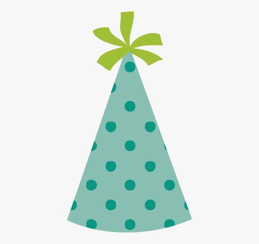 Transparent Happy 30th Birthday Clipart - Birthday Hat Green Transparent, Transparent Clipart