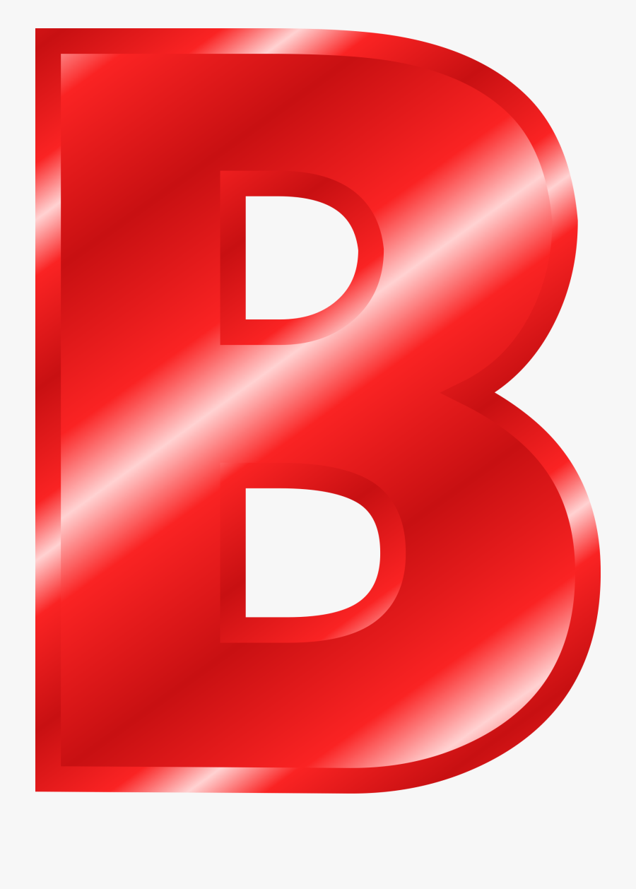 Clipart Letters Red - Red Letters Clipart, Transparent Clipart