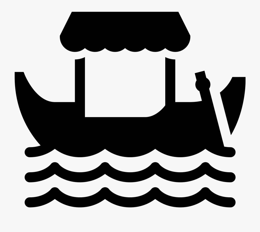 Italy Clipart Gondola - Icon, Transparent Clipart