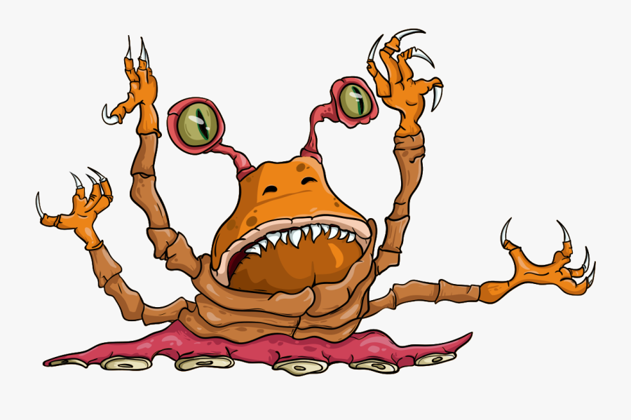 Monster, Claws, Creature - Monster, Transparent Clipart