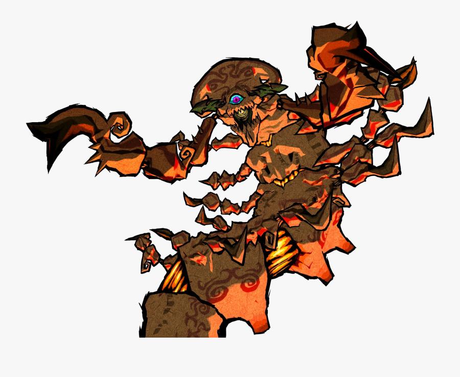 Creatures Clipart Lava Monster - Zelda Wind Waker Bosses, Transparent Clipart