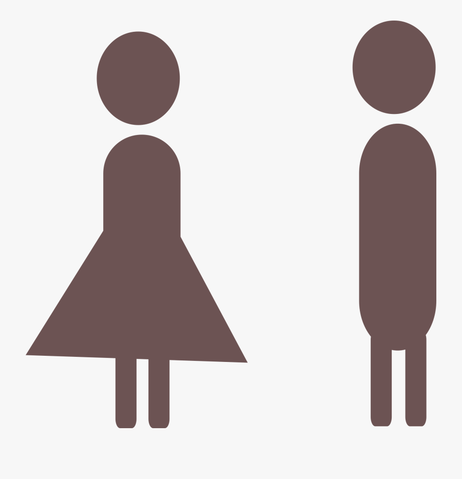 He And She Png, Transparent Clipart