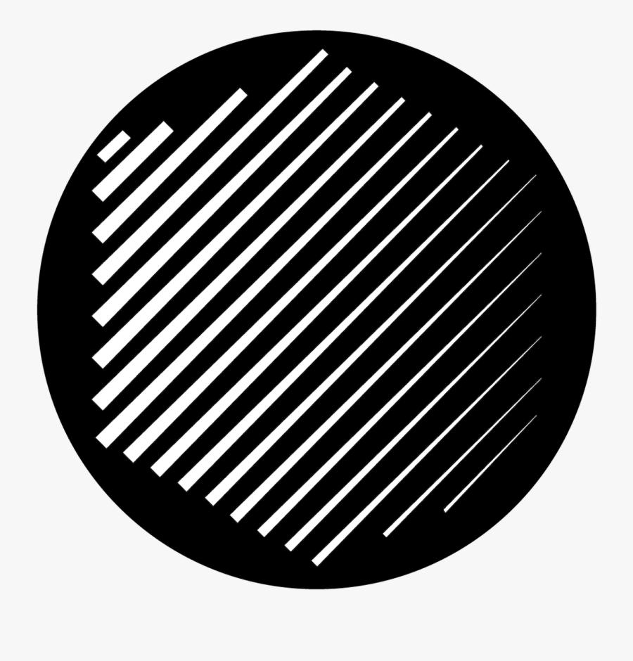 Apollo Design Sr-6184 Pelting Rain B&w Superresolution - Circle, Transparent Clipart