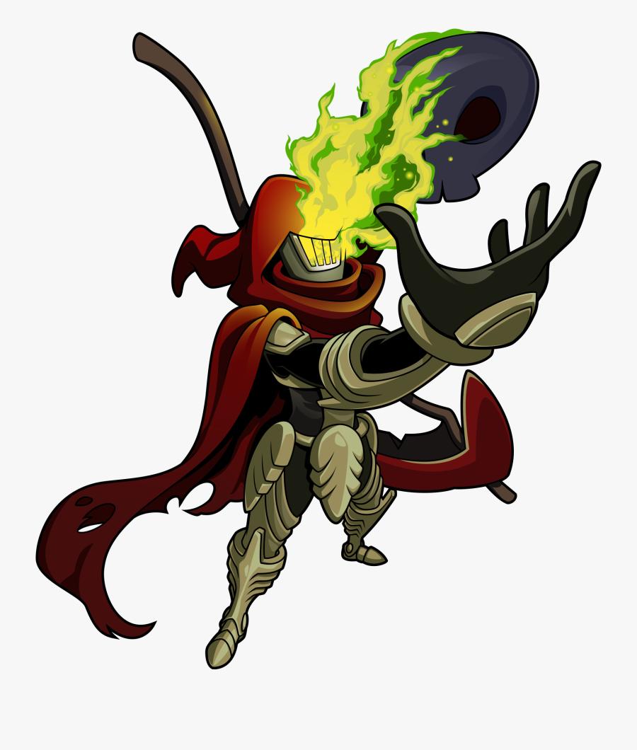 Logos / Icons - Shovel Knight Specter Knight Amiibo, Transparent Clipart