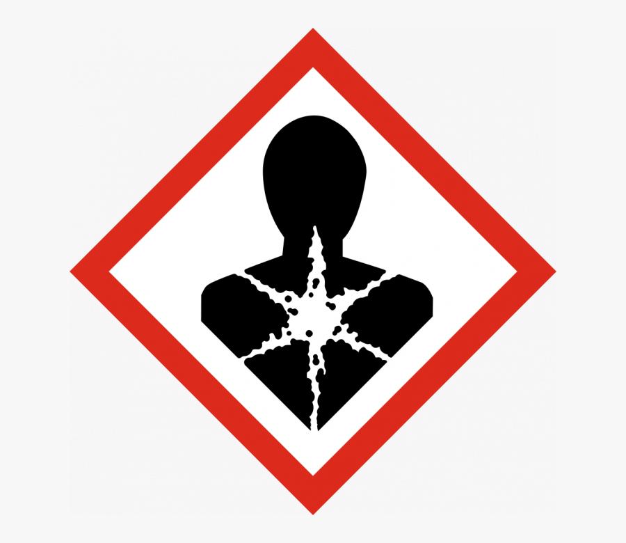 Carcinogen Symbol - Flammable Ghs Pictogram, Transparent Clipart