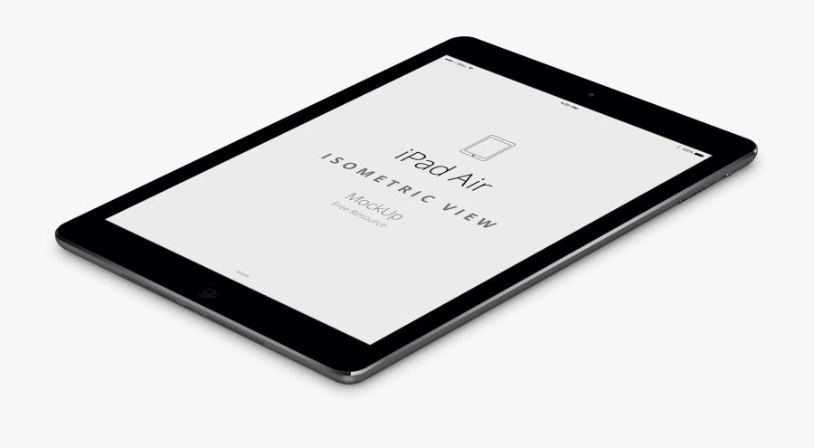 Clip Art Ipad Air Mockup - Ipad Side View Png, Transparent Clipart