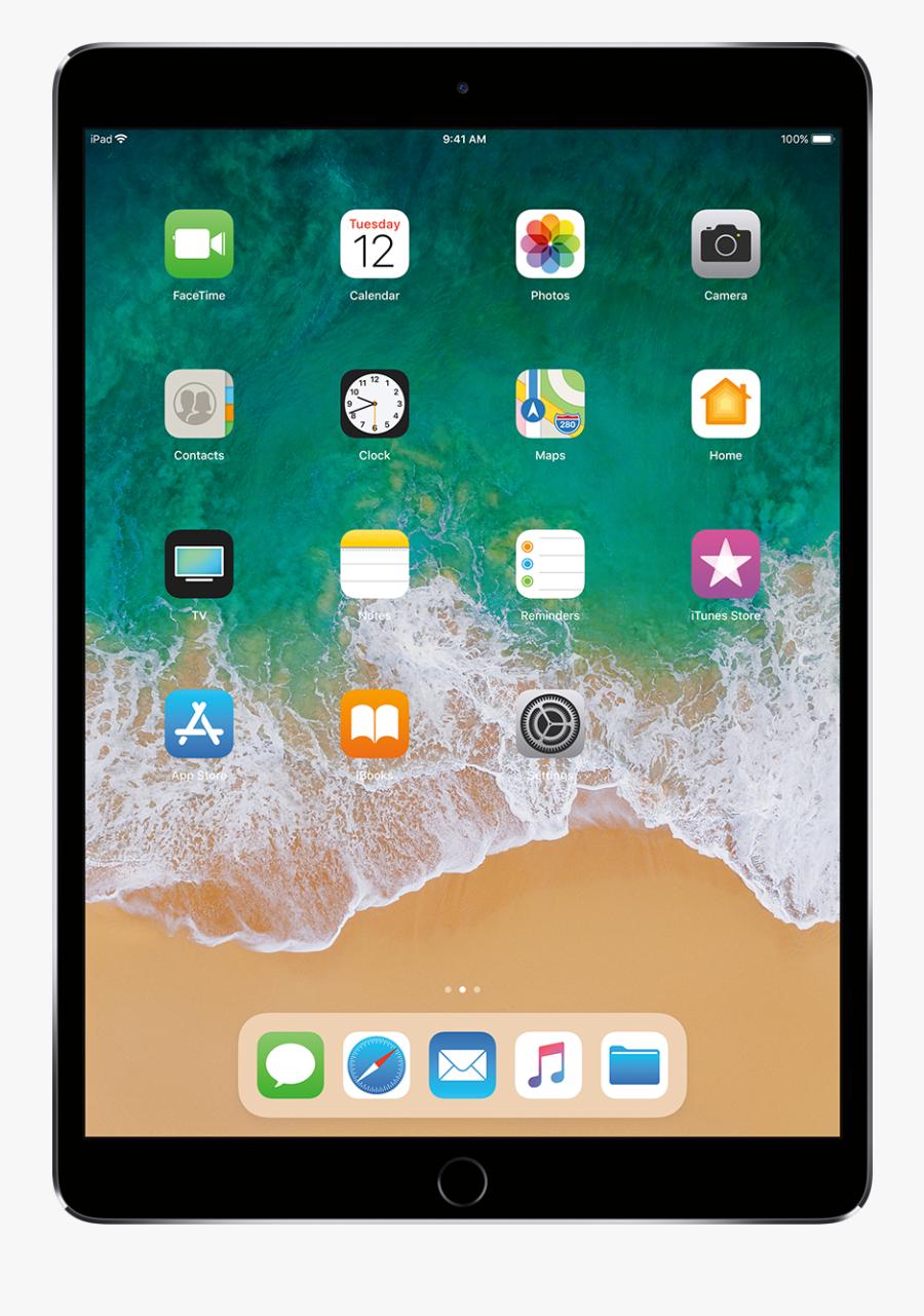 Ipad Tablet Png - Ipad Pro 2017 Black, Transparent Clipart