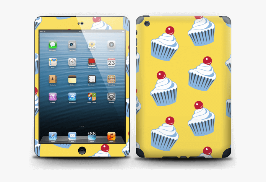Cute Small Cupcakes - Ipad Tablet Computer, Transparent Clipart