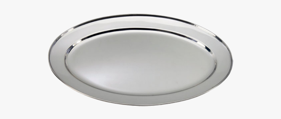 Oval Tray Stainless Steel, Transparent Clipart