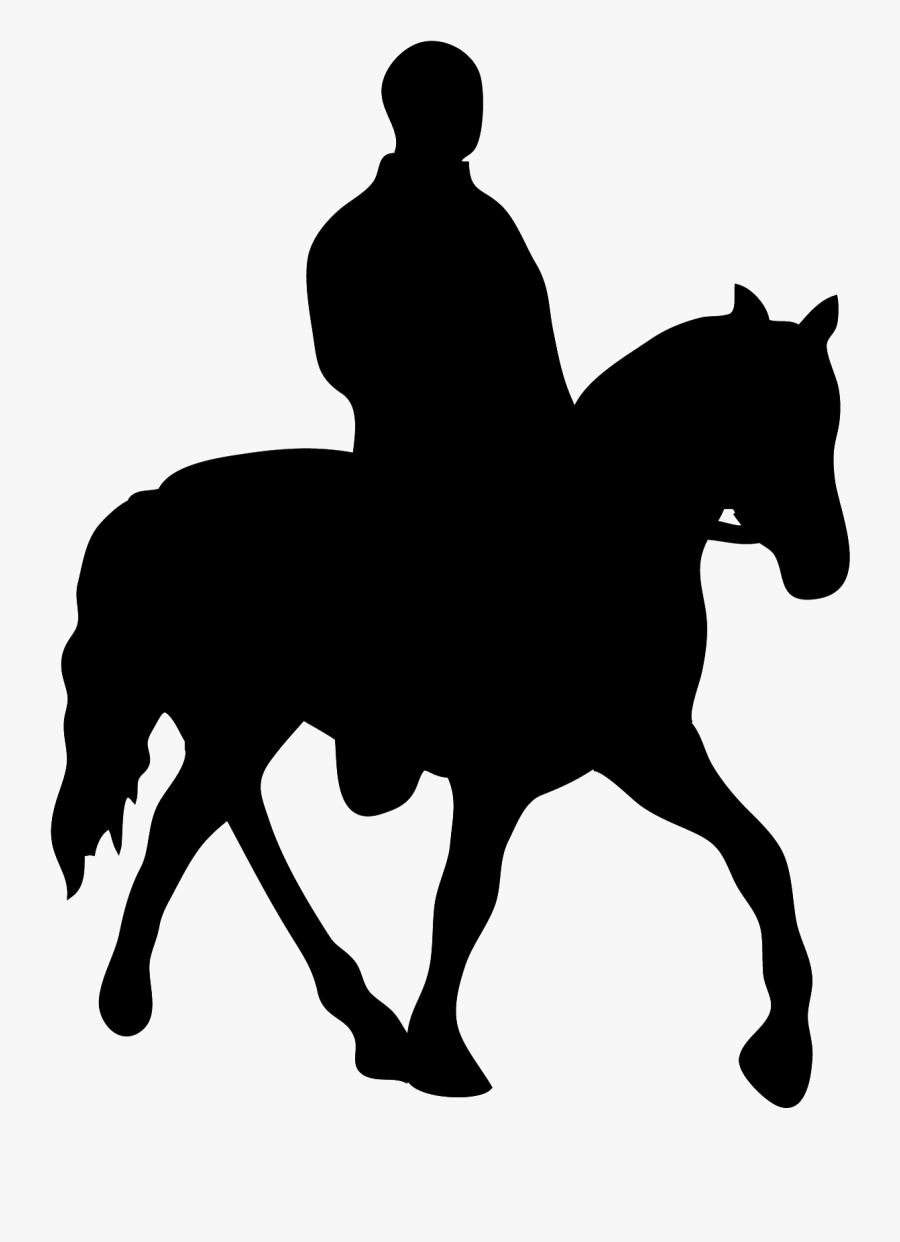 Horse Clip Art Silhouette Image Illustration Man On Horse Silhouette Free Transparent Clipart Clipartkey