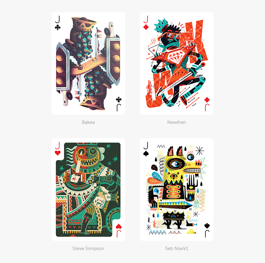 Playing Card Deck Design, Transparent Clipart