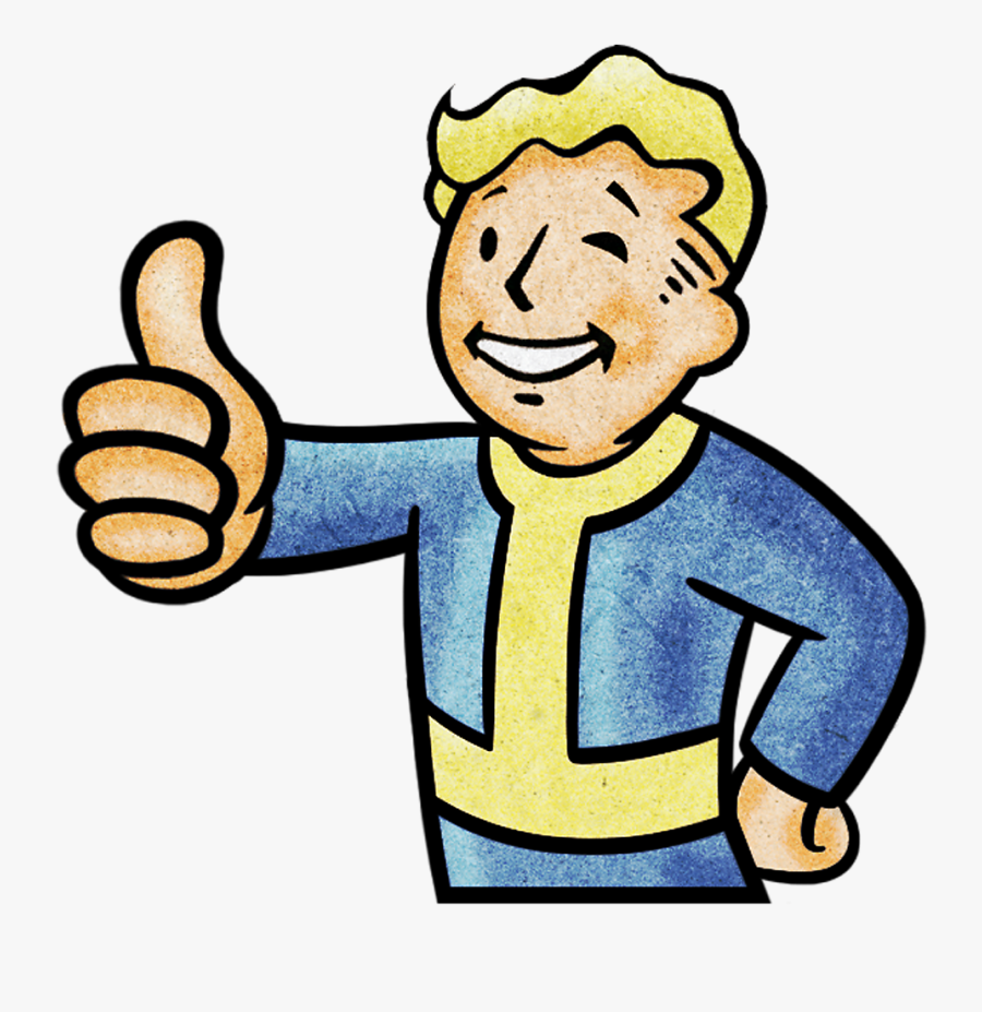 Countdown To Launch Fallout 76 Playstation Rh Playstation - Thumbs Up Fall Out Boy, Transparent Clipart