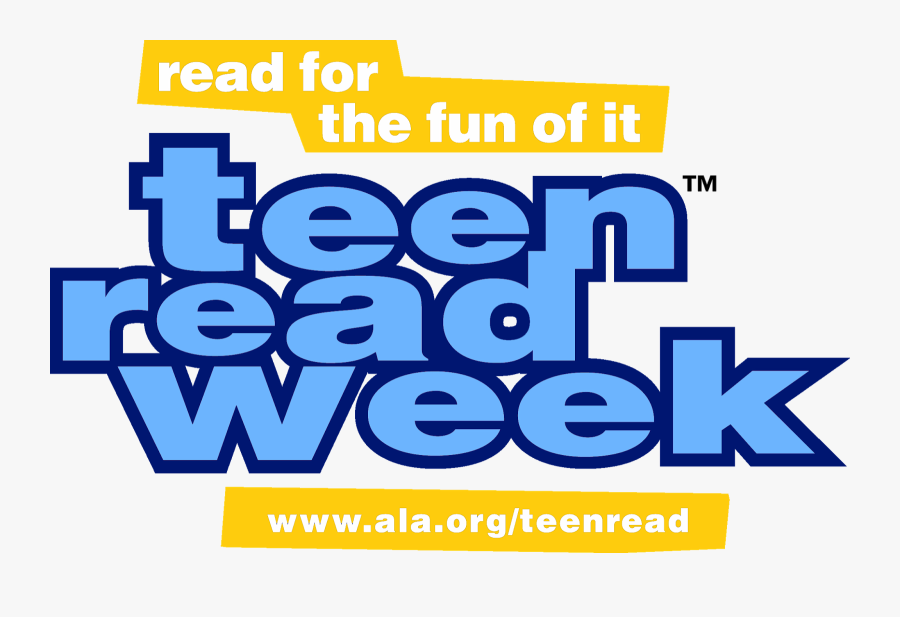 Teen Read Week - Yalsa Teen Read Week, Transparent Clipart