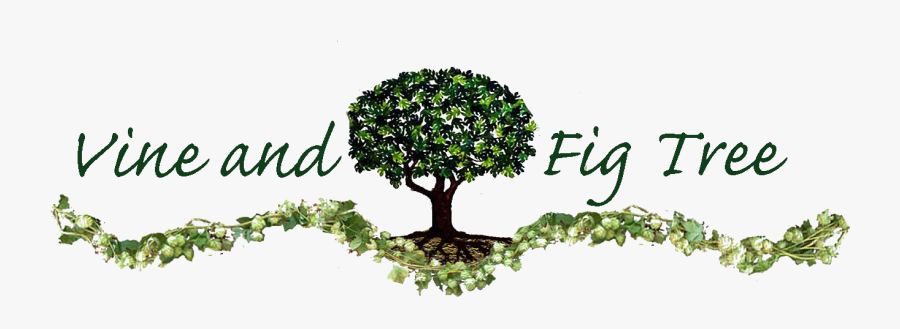Sitting Under Vine And Fig Tree, Transparent Clipart