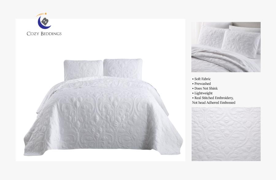 Transparent Comforter Png - Bed Sheet, Transparent Clipart