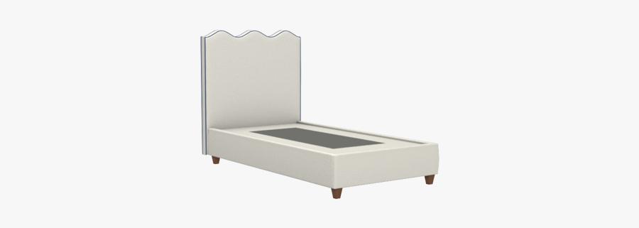 Wave Platform Bed - Bed Frame, Transparent Clipart
