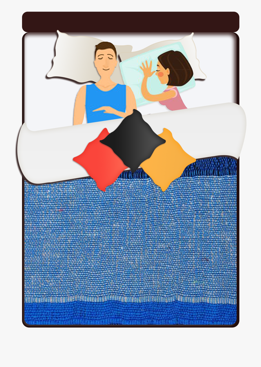 Queen Bed 60 X - Bed Frame, Transparent Clipart