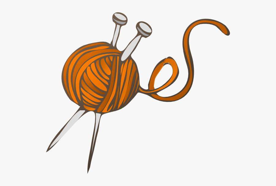 Clip Art At Clker - Yarn Clip Art, Transparent Clipart