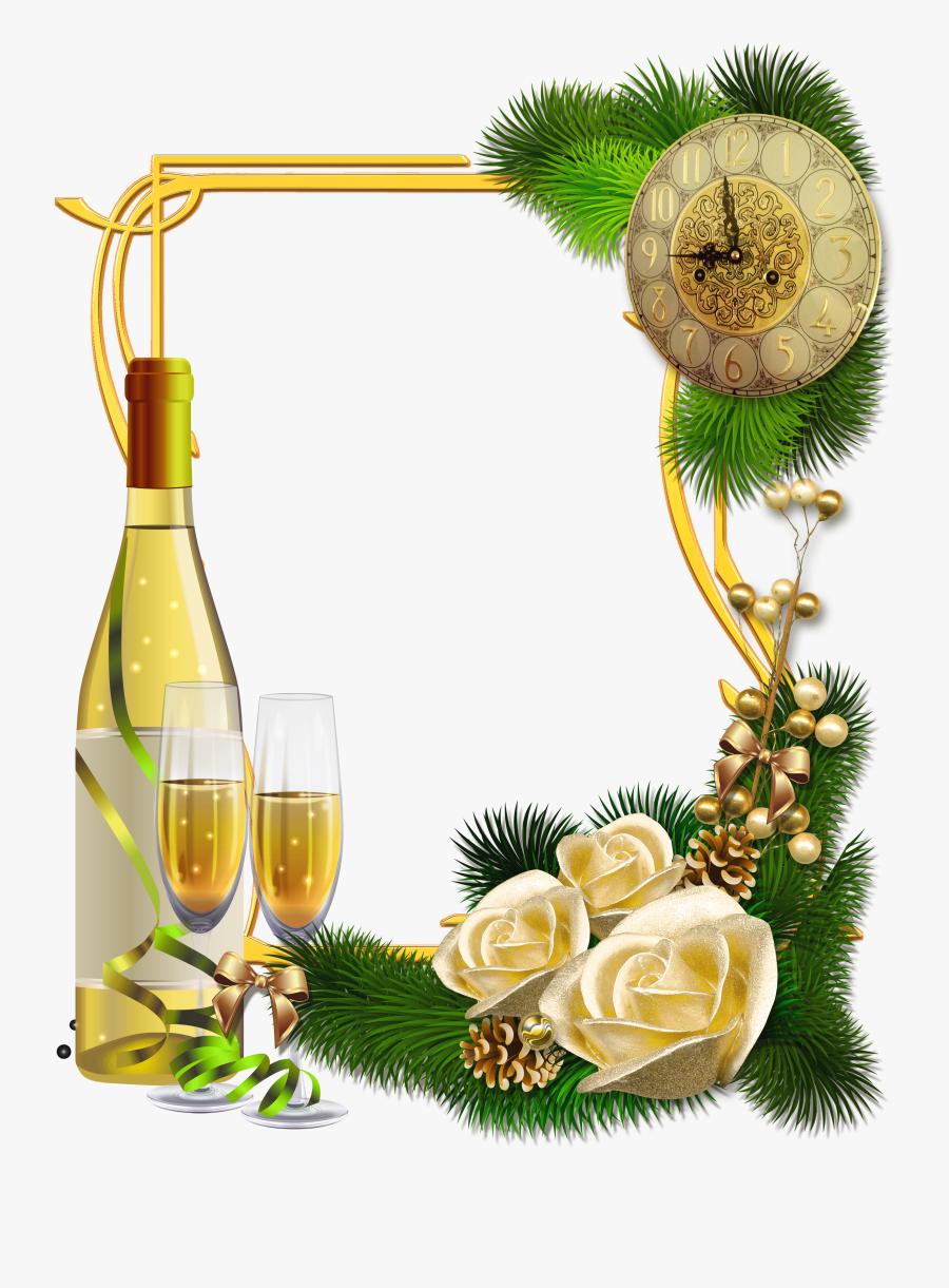 Marco Para Año Nuevo, Transparent Clipart