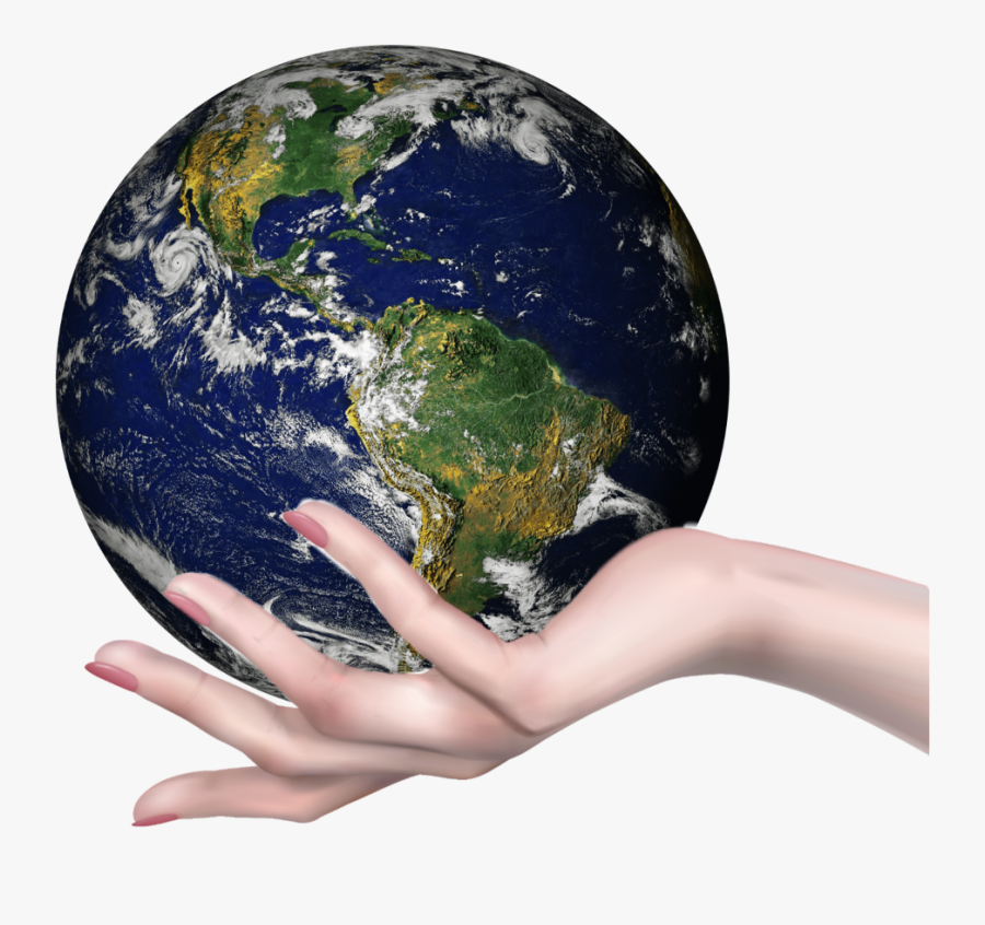 #arstalent #earth #holding #world #hand #handholding - Original Pic Of Earth, Transparent Clipart