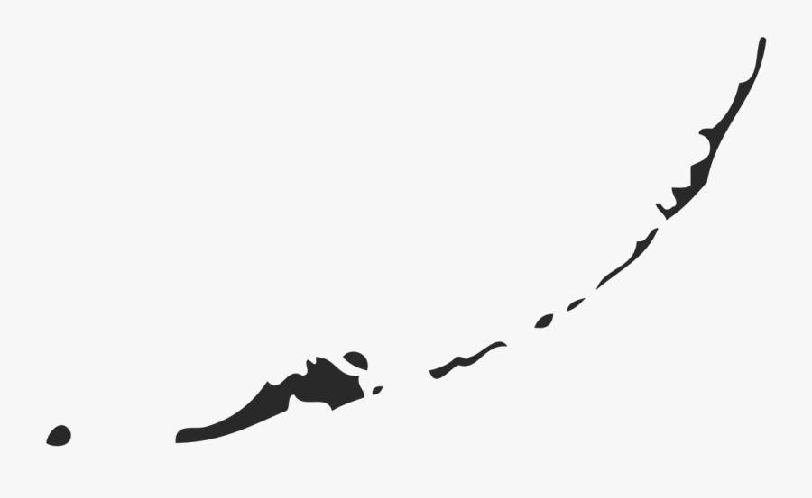 Png Map Keys - Florida Keys Black And White, Transparent Clipart