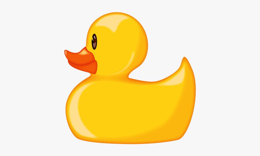 Rubber Duck Emoji Png, Transparent Clipart