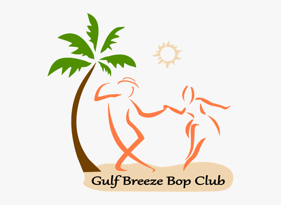 Gulf Breeze Bop Logo - Orange Palm Tree Png, Transparent Clipart