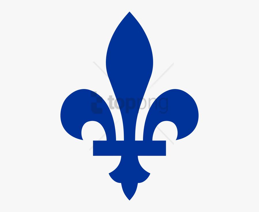 Fleur De Lis Transparent Background - Fleur De Lys Quebec Vector, Transparent Clipart