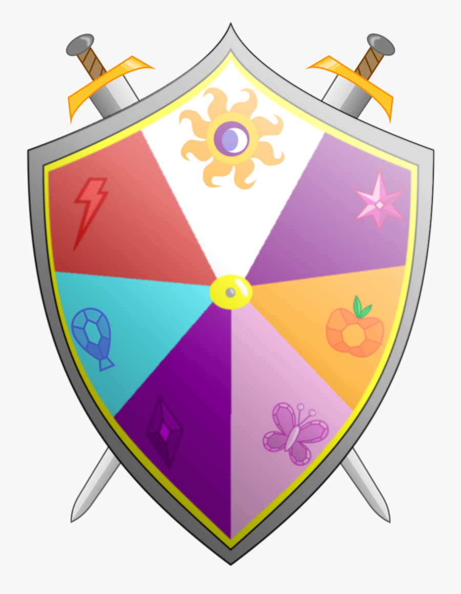 Knight Clipart Royalty Free - Mlp Elements Of Harmony Shield, Transparent Clipart