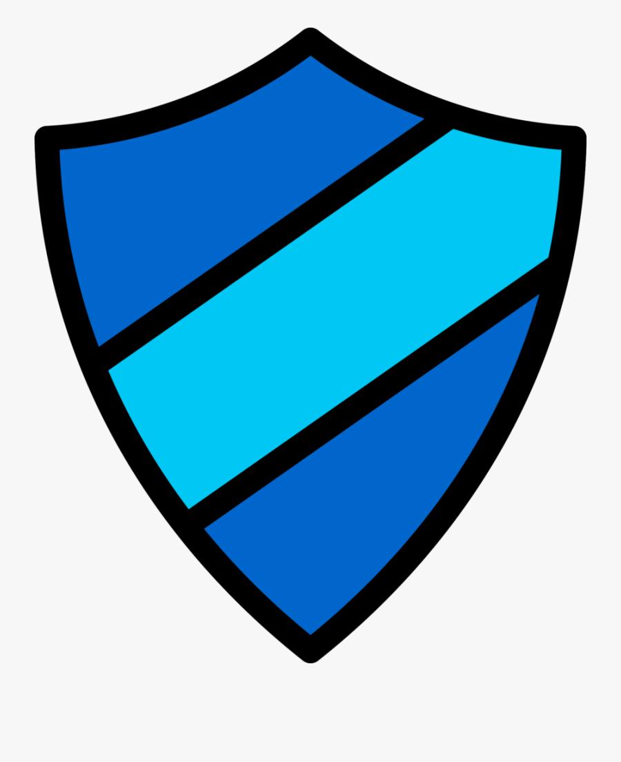 Emblem Icon Dark Blue-light Blue - Dark Blue Logo Shield, Transparent Clipart