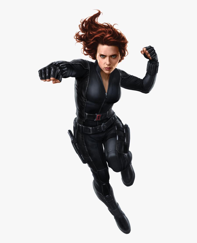 Black Widow By Cptcommunist C - Black Widow Png, Transparent Clipart