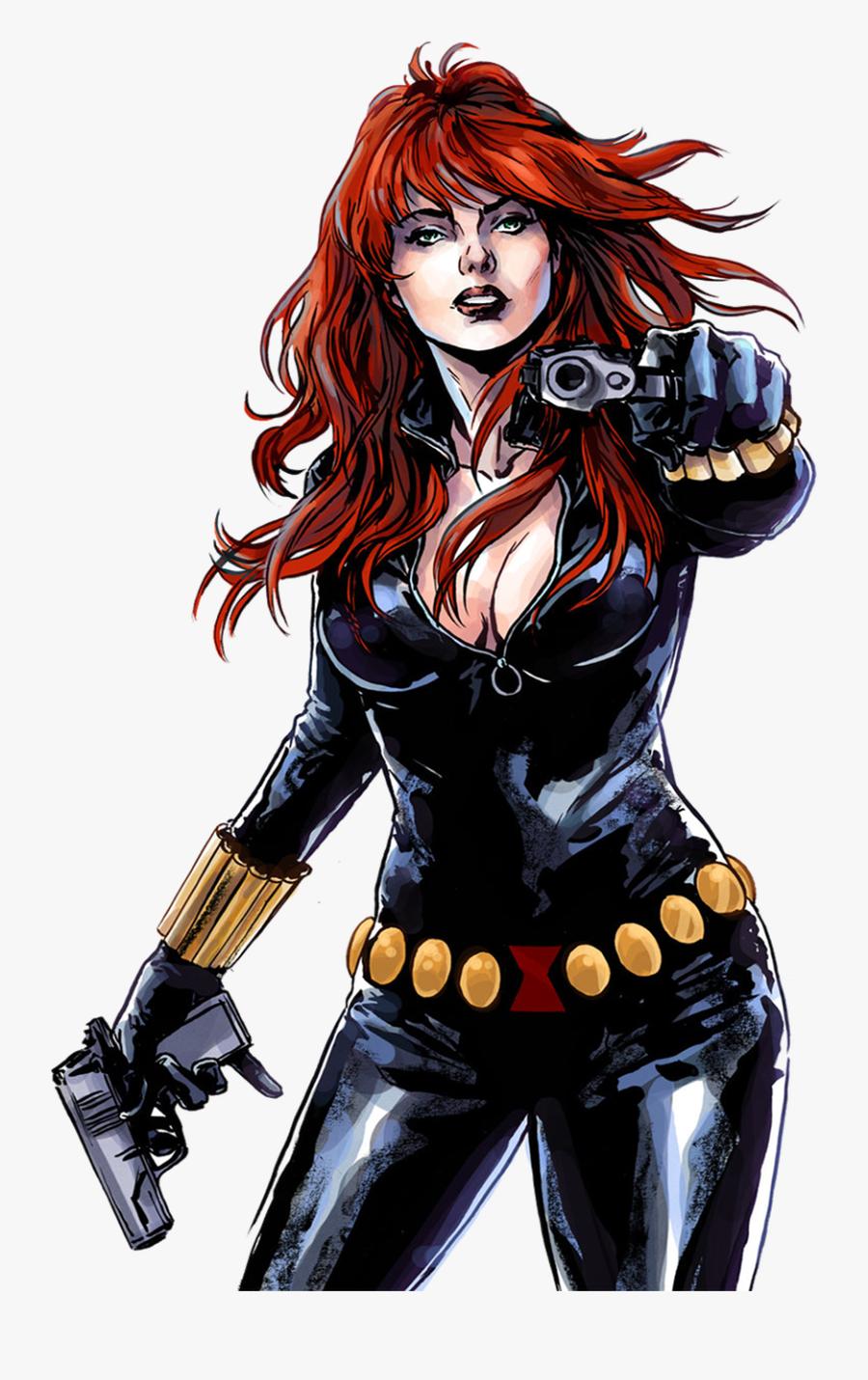 Avengers Clipart Wonder Woman - Black Widow Marvel Hq, Transparent Clipart