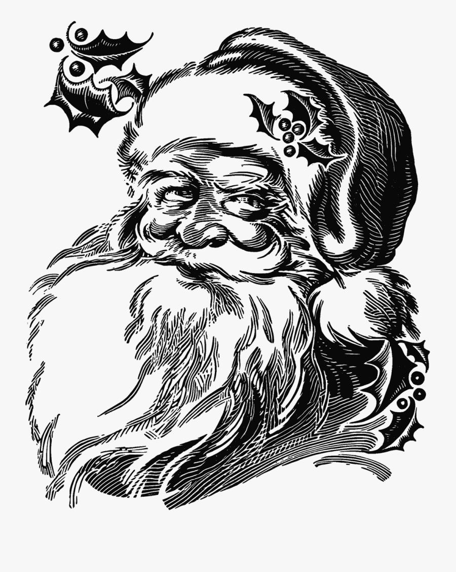 transparent santa claus face png realistic santa claus drawing free transparent clipart clipartkey transparent santa claus face png