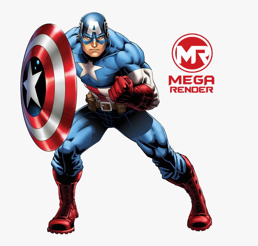America Marvel Bruce Universe Cinematic Comics Black - Captain America Marvel Avengers Assemble, Transparent Clipart