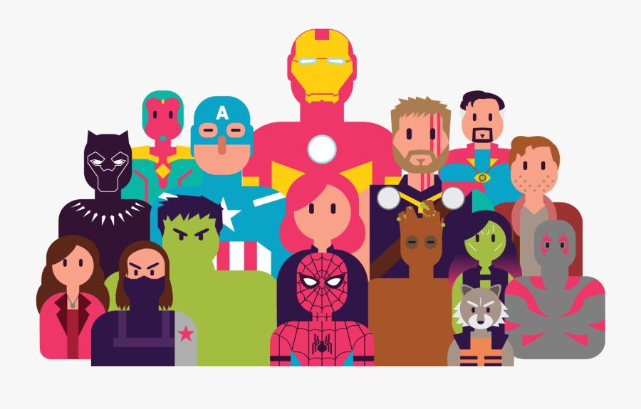 Avengers End Game Tisort, Transparent Clipart