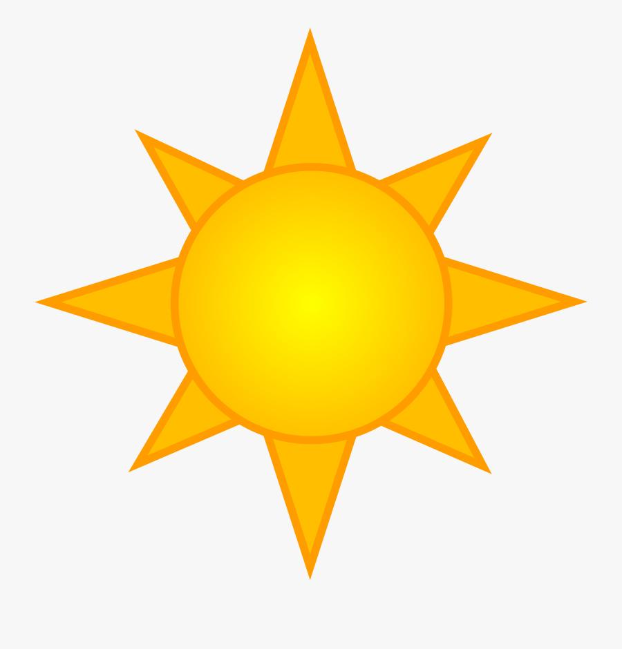 Cartoon Cloud And Sun, Transparent Clipart