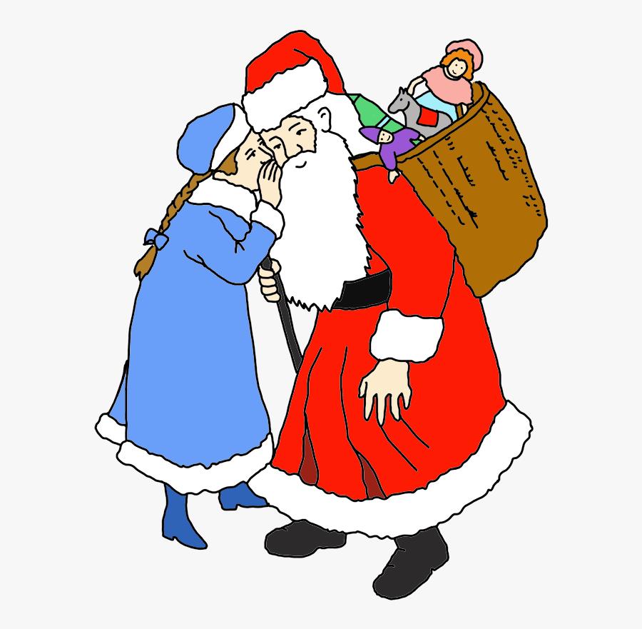 Claus Clipart Santa Claus - Santa Claus, Transparent Clipart