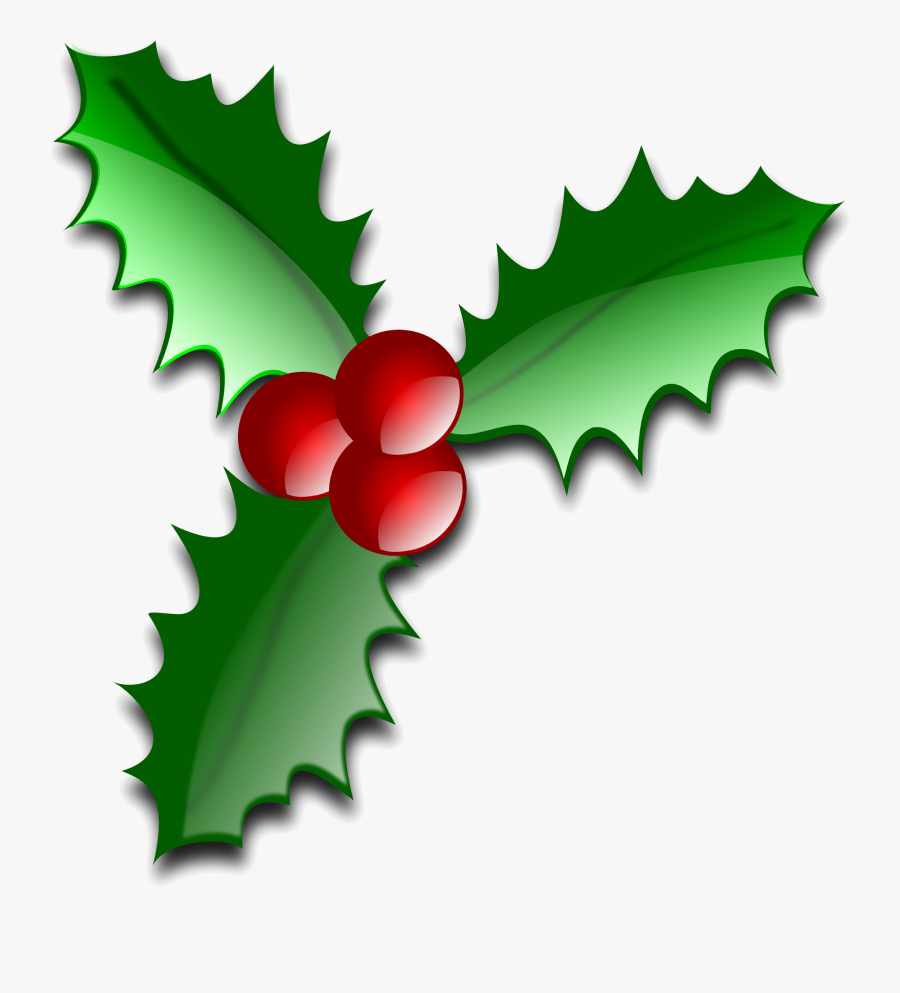 Christmas Clipart Free Clip Art On Transparent Png - Leaves Of Christmas Tree, Transparent Clipart
