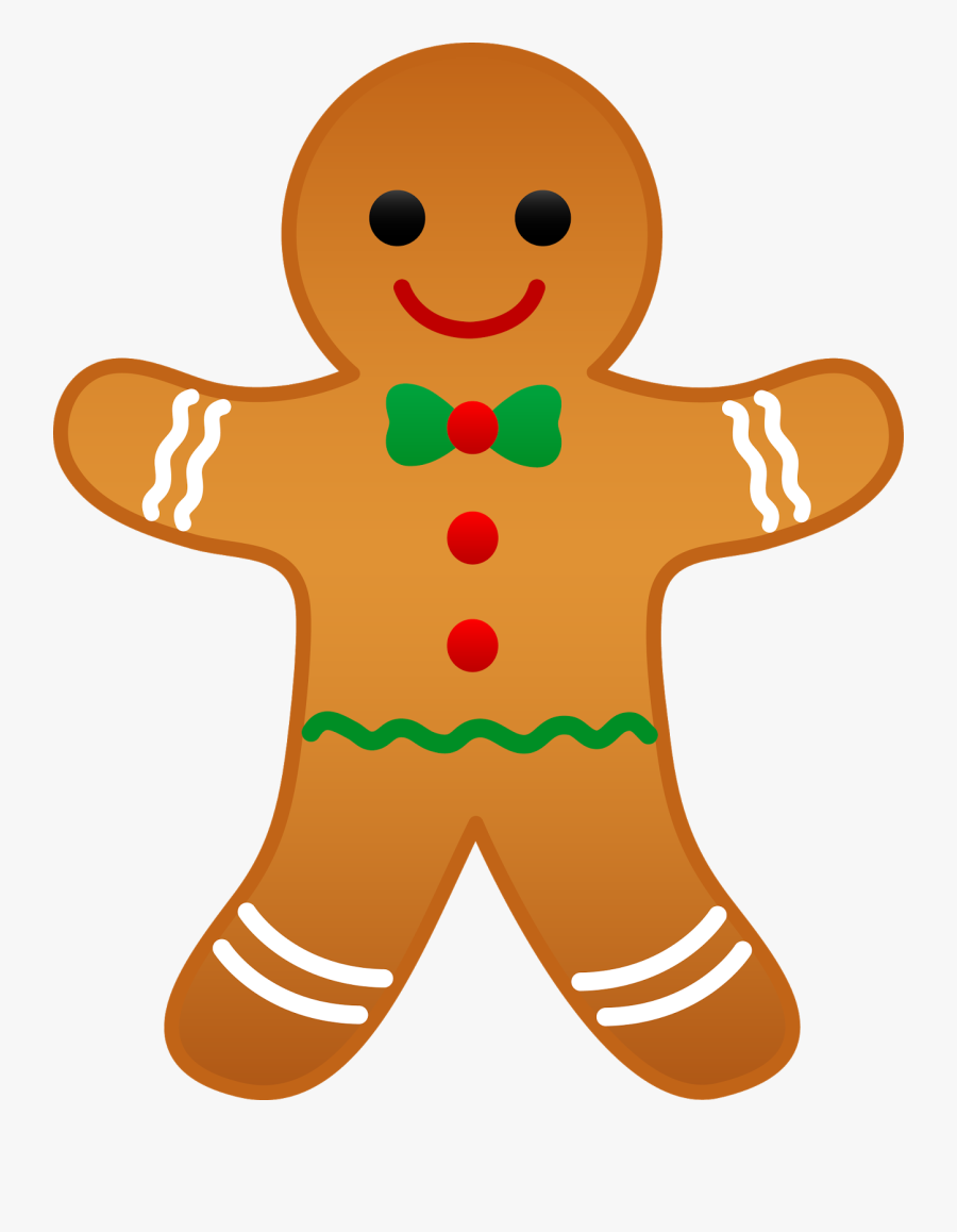 Christmas Clip Art Free Clip Art Images Free Graphics - Christmas Gingerbread Man Clipart, Transparent Clipart